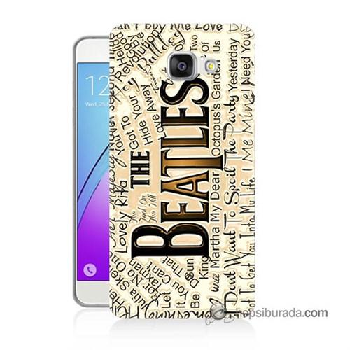 Teknomeg Samsung Galaxy A5 2016 Kılıf Kapak The Beatles Baskılı Silikon