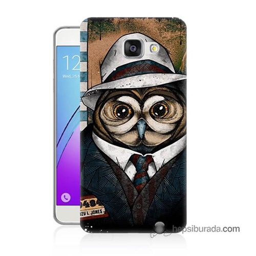 Teknomeg Samsung Galaxy A5 2016 Kapak Kılıf Crazy Jones Baskılı Silikon