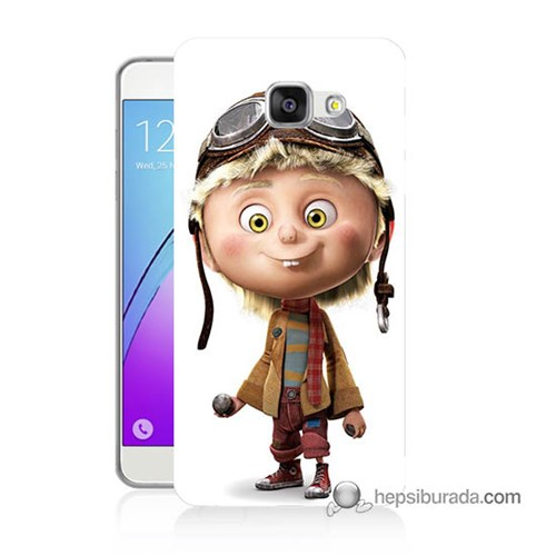 Teknomeg Samsung Galaxy A5 2016 Kılıf Kapak Çizgi Karakter Baskılı Silikon