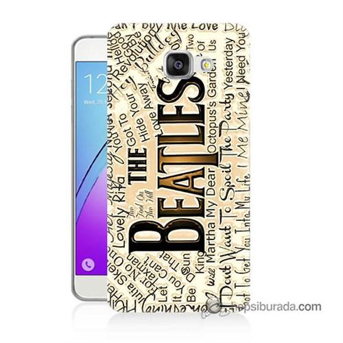 Teknomeg Samsung Galaxy A7 2016 Kılıf Kapak The Beatles Baskılı Silikon