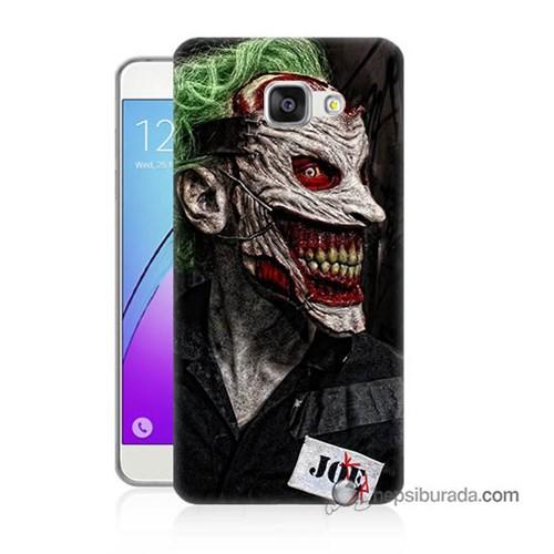 Teknomeg Samsung Galaxy A7 2016 Kapak Kılıf Joker Joe Baskılı Silikon