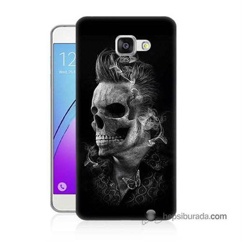Teknomeg Samsung Galaxy A7 2016 Kapak Kılıf Elvis Presley Efsanesi Baskılı Silikon