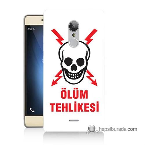 Teknomeg Türk Telekom Tt175 Kapak Kılıf Ölüm Tehlikesi Baskılı Silikon