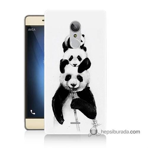 Teknomeg Türk Telekom Tt175 Kapak Kılıf Panda Ailesi Baskılı Silikon