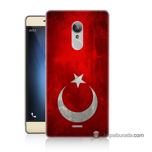 Teknomeg Türk Telekom Tt175 Kılıf Kapak Türkiye Bayrağı Baskılı Silikon