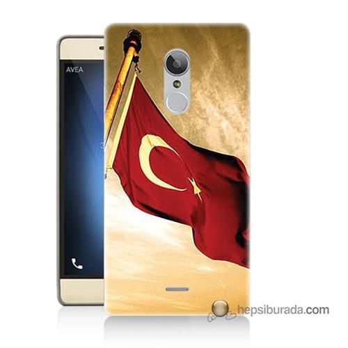 Teknomeg Türk Telekom Tt175 Kılıf Kapak Türk Bayrağı Baskılı Silikon