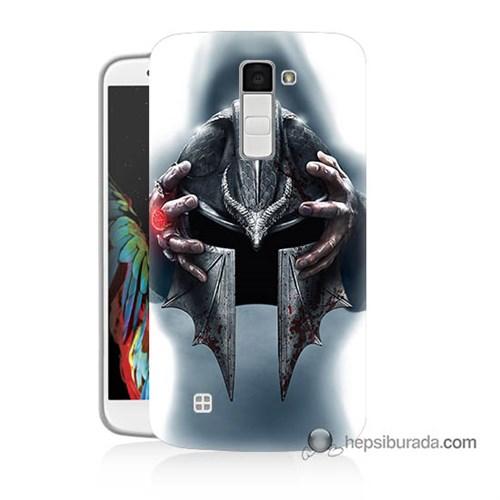 Teknomeg Lg K10 Kılıf Kapak Assassins Creed Baskılı Silikon