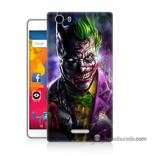 Teknomeg Casper Via M1 Kılıf Kapak Batman Vs Joker Baskılı Silikon