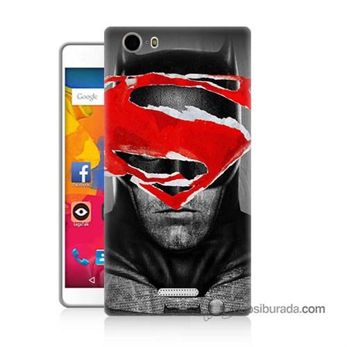 Teknomeg Casper Via M1 Kapak Kılıf Batman Vs Superman Baskılı Silikon