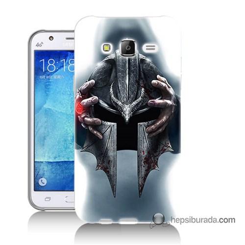 Teknomeg Samsung Galaxy J5 Kılıf Kapak Assassins Creed Baskılı Silikon