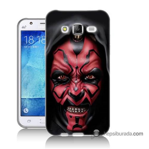 Teknomeg Samsung Galaxy J7 Kılıf Kapak Starwars Güç Uyanıyor Baskılı Silikon