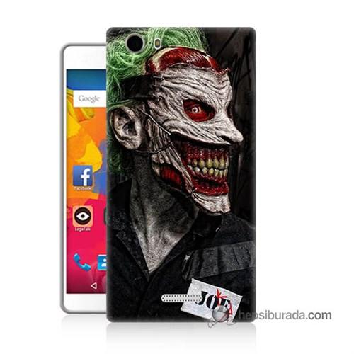 Teknomeg Casper Via M1 Kapak Kılıf Joker Joe Baskılı Silikon