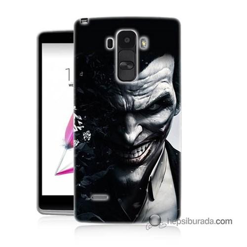 Teknomeg Lg G4 Stylus Kılıf Kapak Joker Baskılı Silikon