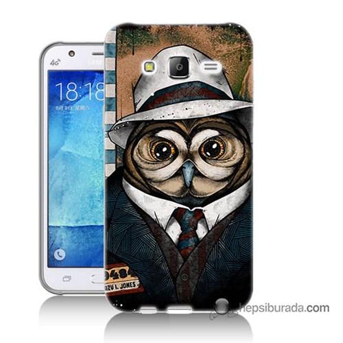 Teknomeg Samsung Galaxy J5 Kapak Kılıf Crazy Jones Baskılı Silikon