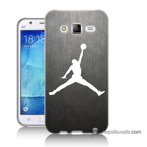 Teknomeg Samsung Galaxy J7 Kapak Kılıf Nba Baskılı Silikon