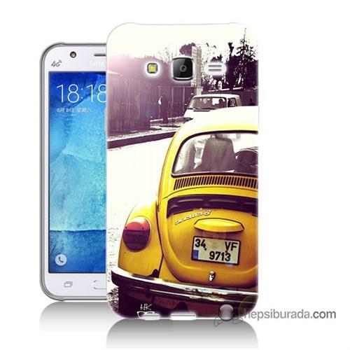 Teknomeg Samsung Galaxy J7 Kılıf Kapak Volkswagen Baskılı Silikon
