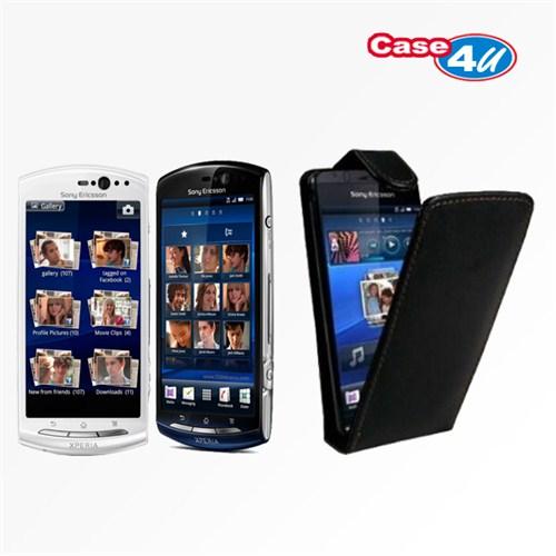 Case 4U Sony Ericsson Xperia Neo / Neo V Flip Kılıf