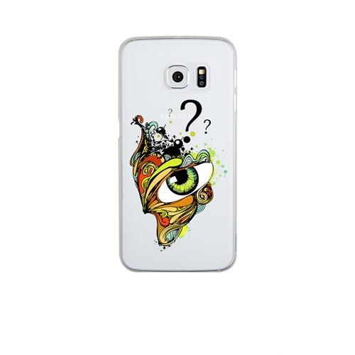 Remeto Samsung S6 Edge Plus Silikon Gizemli Göz
