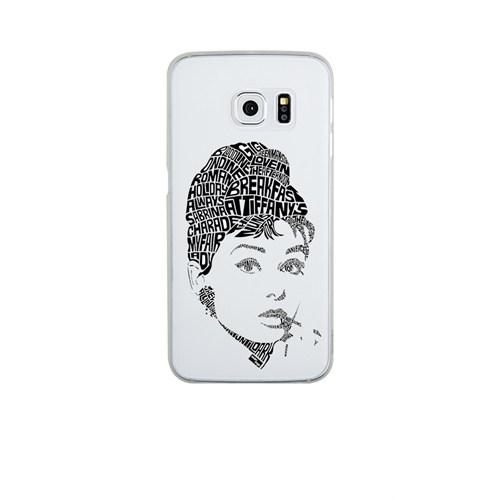 Remeto Samsung S6 Edge Plus Silikon Audrey Hepburn