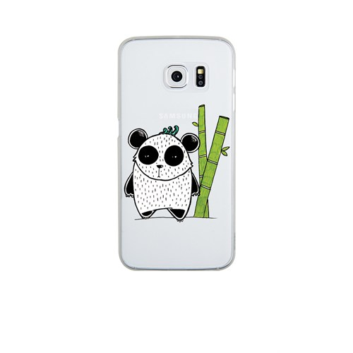 Remeto Samsung S6 Edge Plus Silikon Bambulu Panda