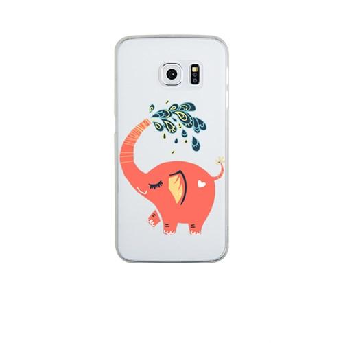 Remeto Samsung S6 Edge Plus Silikon Neşeli Fil