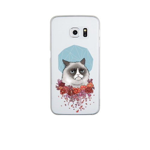 Remeto Samsung S6 Edge Plus Silikon Asabi Kedi