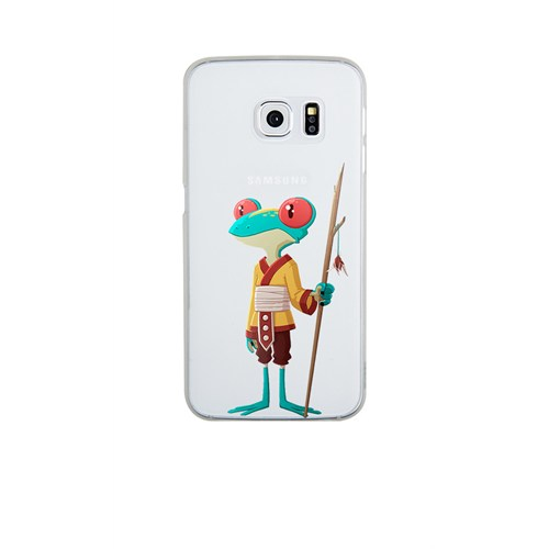 Remeto Samsung S6 Edge Plus Silikon Kabile Üyesi Kurbağa