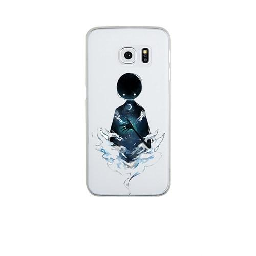 Remeto Samsung S6 Edge Plus Silikon Gecenin Hayaleti