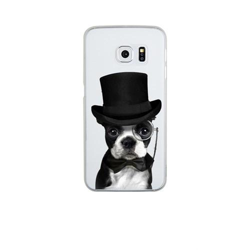 Remeto Samsung S6 Edge Silikon Soylu Köpek