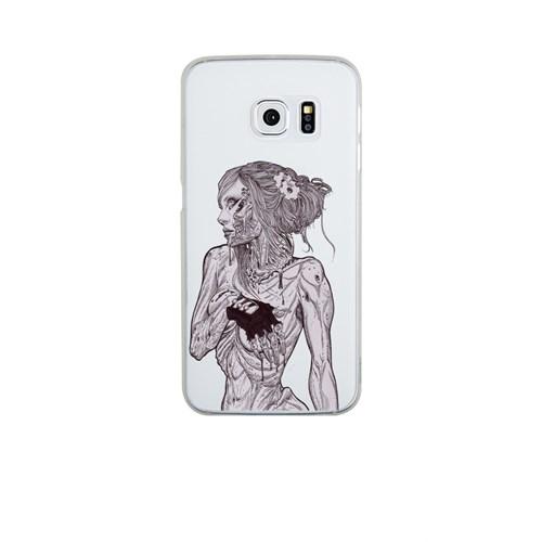 Remeto Samsung S6 Edge Silikon Zombi Kadın