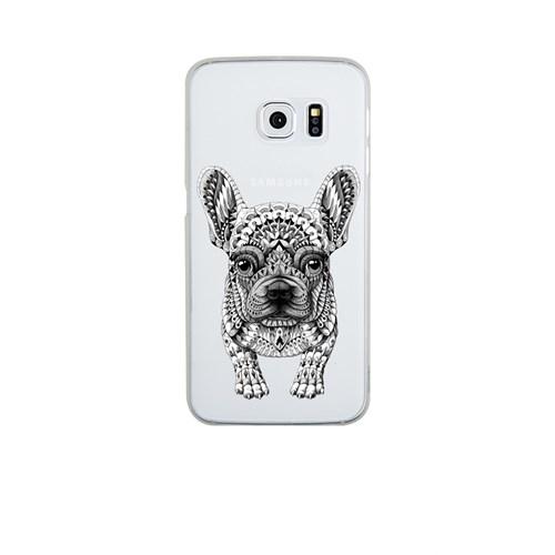 Remeto Samsung S6 Edge Silikon Mozaik Sevimli Köpek