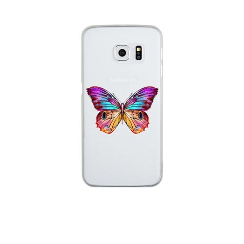 Remeto Samsung S6 Edge Silikon OLGun Kelebek
