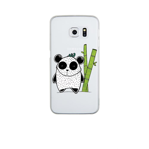 Remeto Samsung S6 Edge Silikon Bambulu Panda