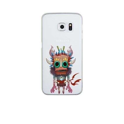 Remeto Samsung S6 Edge Silikon Maskeli Kızılderili