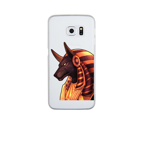 Remeto Samsung S6 Edge Silikon Çakal Tanrı Anubis
