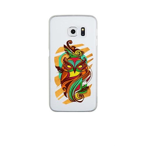 Remeto Samsung S6 Edge Silikon Efsunlu Baykuş