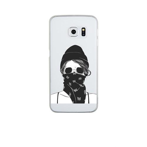 Remeto Samsung S6 Edge Silikon Maskeli Kız