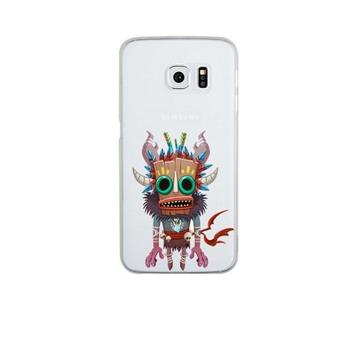 Remeto Samsung S6 Silikon Maskeli Kızılderili