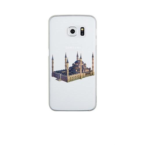 Remeto Samsung Galaxy S6 Şeffaf Transparan Silikon Resimli Sultan Ahmet Cami