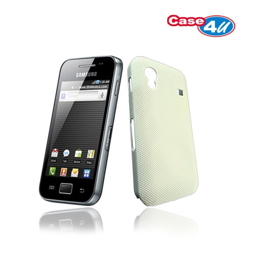 Case 4U Samsung Galaxy Ace S5830 Kılıf Beyaz*