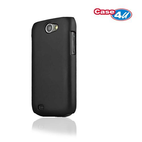 Case 4U Samsung i8150 Galaxy W Siyah Kapak