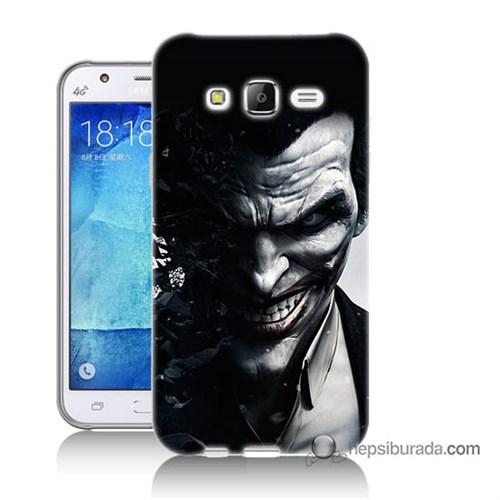 Teknomeg Samsung Galaxy J5 Kılıf Kapak Joker Baskılı Silikon