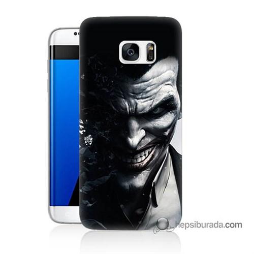 Teknomeg Samsung Galaxy S7 Edge Kılıf Kapak Joker Baskılı Silikon