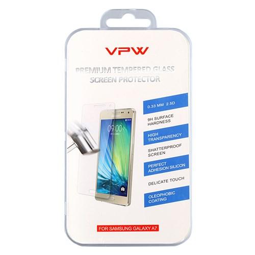 VPW Samsung Galaxy A7 Tempered Glass Kırılmaz Cam Ekran Koruyucu