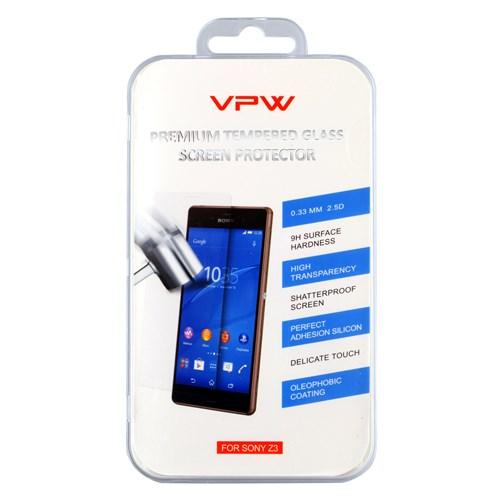 VPW Sony Xperıa Z3 Tempered Glass Kırılmaz Cam Ekran Koruyucu