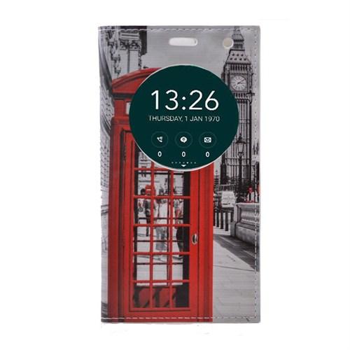 Teleplus Asus Zenfone Go 5 İnç Pencereli Desenli Kılıf Telefon