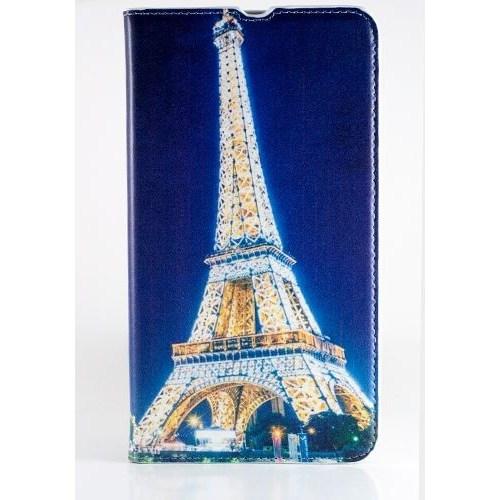 Teleplus Nokia Lumia 1320 Desenli Kılıf Mavi Paris