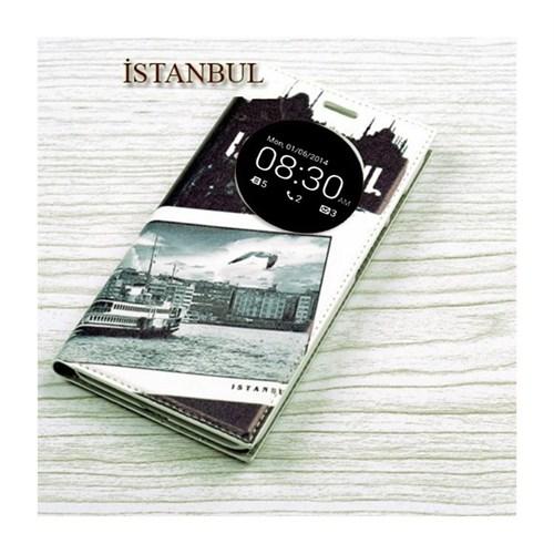 Teleplus Asus Zenfone 6 Pencereli Özel Desenli Kılıf İstanbul