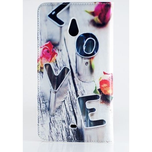 Teleplus Nokia Lumia 1320 Desenli Kılıf Love
