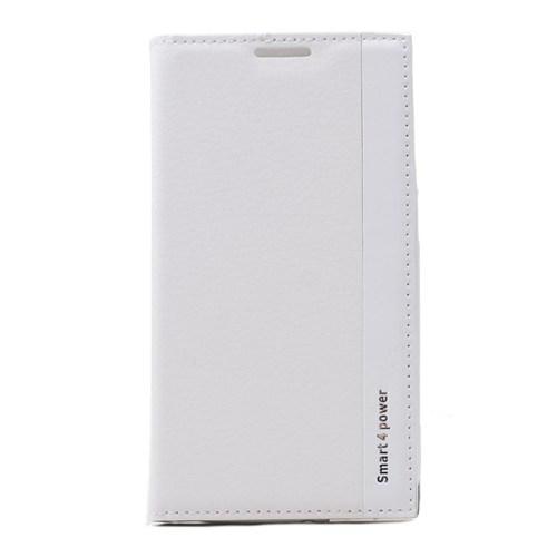 Teleplus Vodafone Smart 4 Power Lüx Kılıf Beyaz